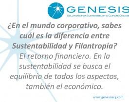 16.Sustentabilidad vs Filantropía