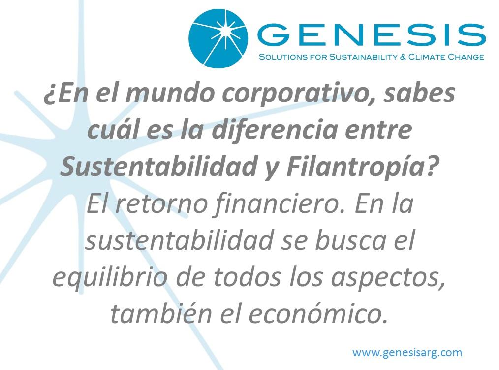 ¿En el mundo corporativo, sabes cuál es la diferencia entre Sustentabilidad y Filantropía?