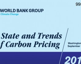 State and Trends of Carbon pricing 2015