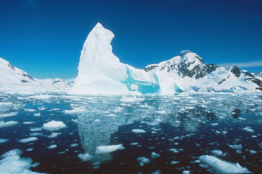OMM reporta mayor disminución del hielo del Ártico debido a las altas temperaturas