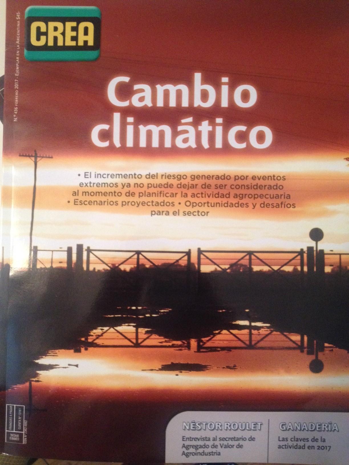 Artículo de Alejandra Cámara, Directora de GENESIS, publicado en Revista CREA