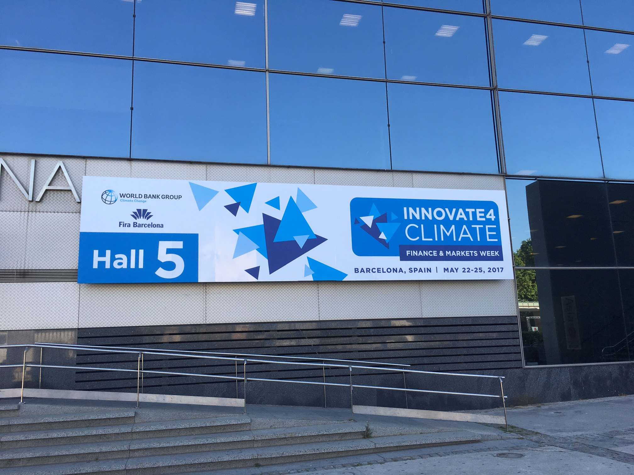 Alejandra Camara, Director of Genesis, participated in the event Innovate4Climate in Barcelona