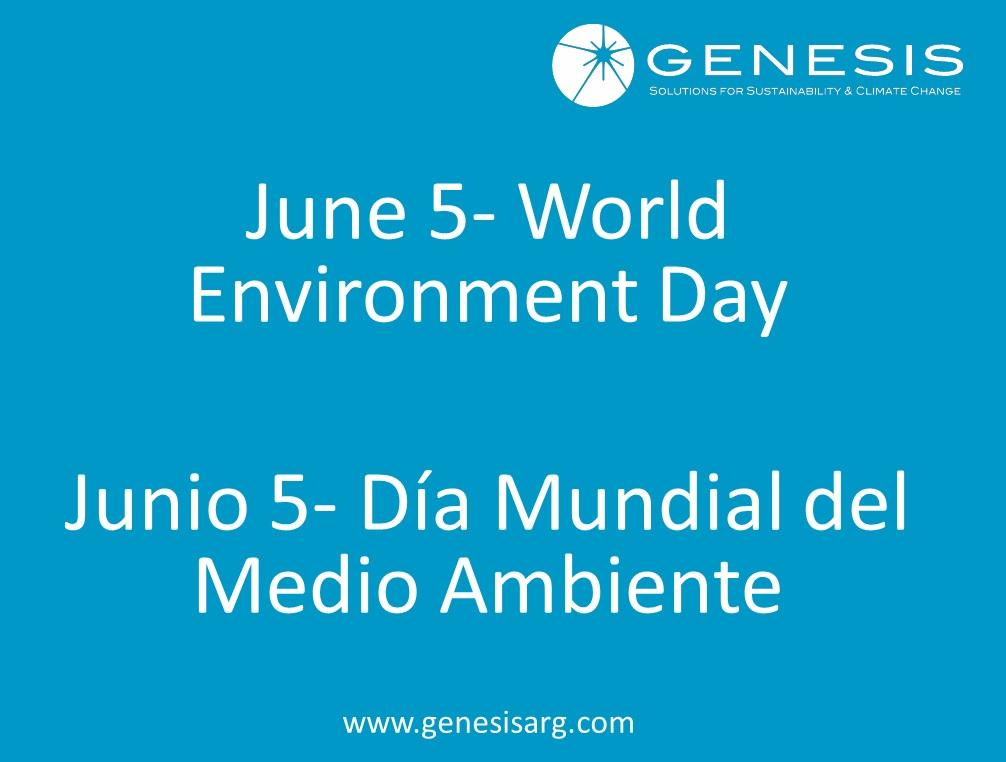 5 de Junio- Día Internacional del Medio Ambiente