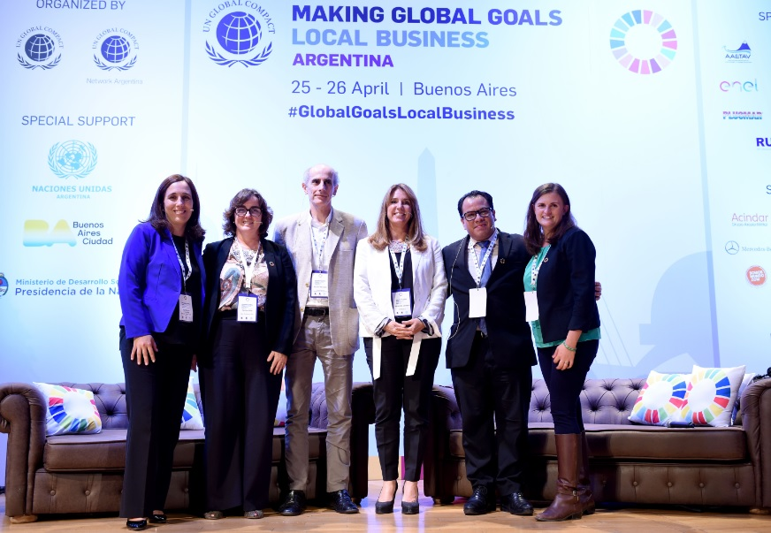 UN Global Compact organized an event on SDGs in Buenos Aires
