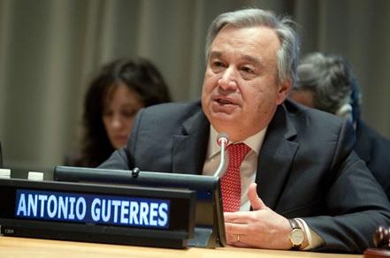 UN secretary gral
