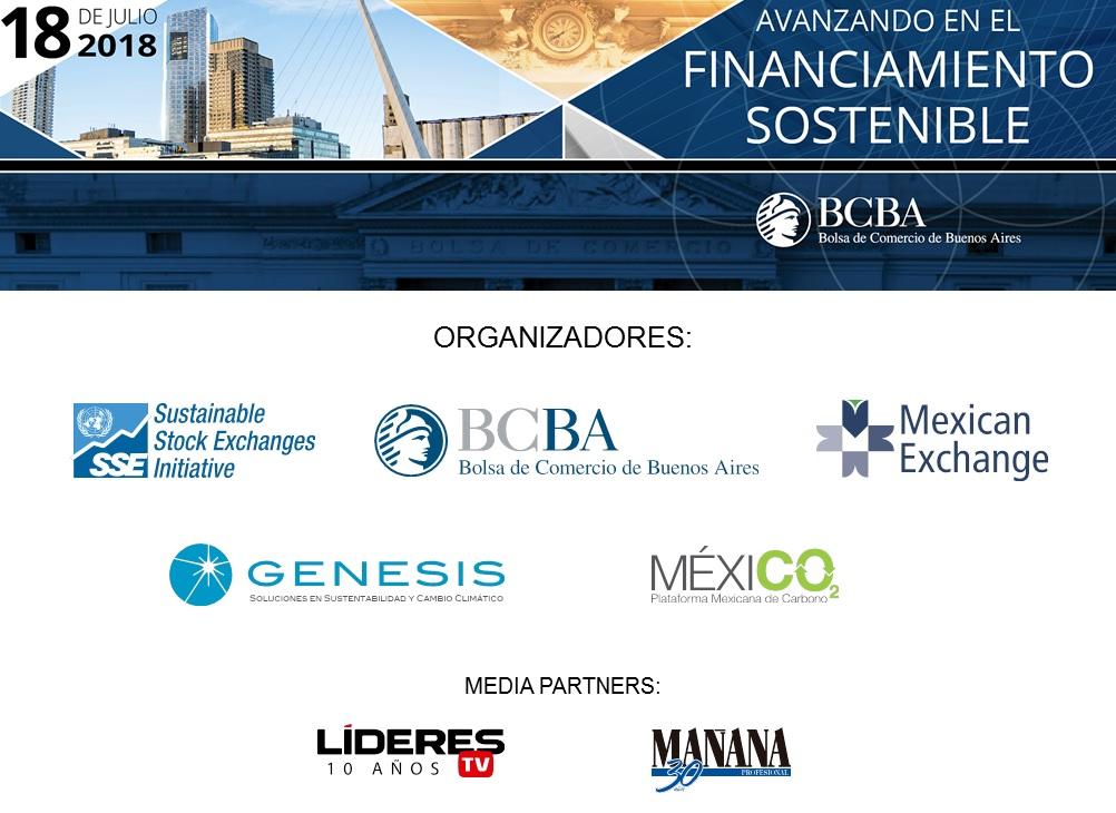 GENESIS organizó evento en la Bolsa de Comercio de Buenos Aires sobre Financiamiento Sostenible