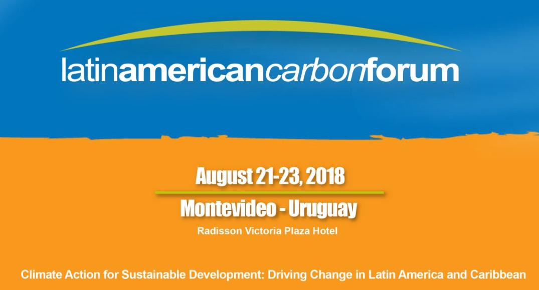 GENESIS participó del Foro de Carbono de América Latina y el Caribe 2018