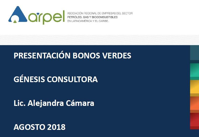 Alejandra Cámara, Directora de Génesis, disertante en ARPEL